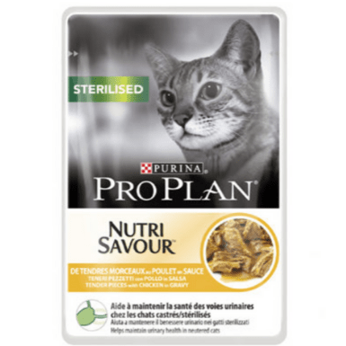 PURINA® PRO PLAN® Sterilised NUTRISAVOUR™